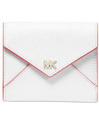ef3ff8b4dad6 MICHAEL Michael Kors - Medium Slim Envelope Tri-fold Leather Wallet - Lyst