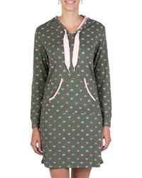 Claudel - Volage Hooded Nightgown - Lyst