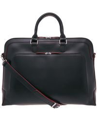 Lodis Audrey Brera Grain Leather Briefcase - Black
