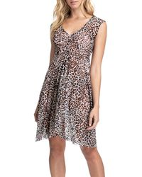 Gottex Wild Thing Leopard Coverup Dress - Multicolour