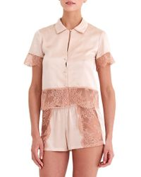 Rya Collection - High Class Two-piece Shorty Pajama Set - Lyst