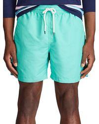 Polo Ralph Lauren Traveller Swim Trunks - Green