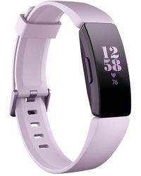 Fitbit - Inspire Hr Lilac Fitness Tracker - Lyst