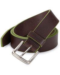 Tallia Orange - Textured Leather Belt - Lyst
