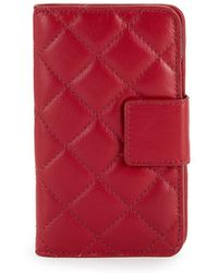 Lord & Taylor - Quilted Iphone X Folio Case - Lyst