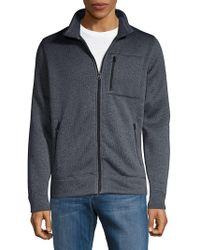 Lucky Brand - Fleece Zip-up Jacket - Lyst