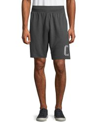 Champion - Heritage Fleece Oxford Shorts - Lyst