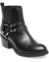 Steve Madden Reeva Buckled Ankle Boots - Black