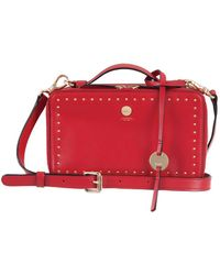 Lodis - Pismo Stud Rfid Sally Leather Zip Crossbody Bag - Lyst