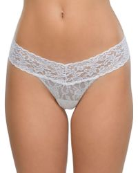 Hanky Panky - Low Rise Hipster Thong - Lyst