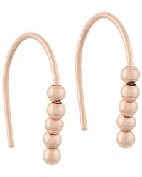 French Connection - Small Dot Drop Earrings - Lyst