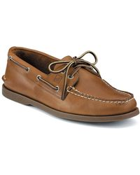 Sperry Top-Sider - A O 2-eye Leather Boat Shoe - Smart Value - Lyst