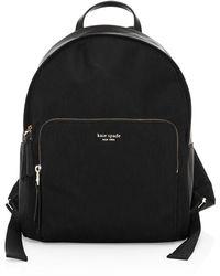 Kate Spade Large Taylor Backpack - Black