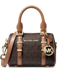 MICHAEL Michael Kors Bedford Legacy Extra-small Logo Duffel Crossbody Bag - Multicolour