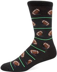 Hot Sox - Football Knit Socks - Lyst