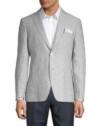 Tallia Orange - Mason-fit Chambray Linen Suit Separate Jacket - Lyst
