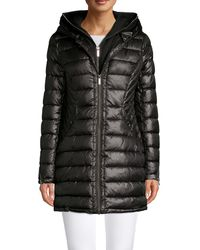 French Connection Double-hooded Zip Jacket - Black