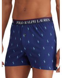Polo Ralph Lauren Pony-print Stretch Boxers
