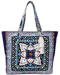 Steve Madden | Colleen Aztec-print Canvas Tote | Lyst