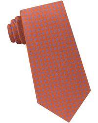 Michael Kors - Small Stitched Neat Silk Tie - Lyst