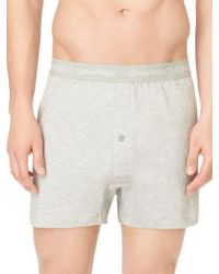 CALVIN KLEIN 205W39NYC - Cotton Classic 3 Pack Knit Boxer - Lyst