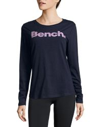 Bench - Long-sleeve Logo Tee - Lyst