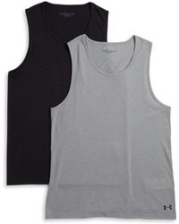 c8772d68202553 Polo Ralph Lauren 2-Pack Big And Tall Tank Tops in White for Men - Lyst