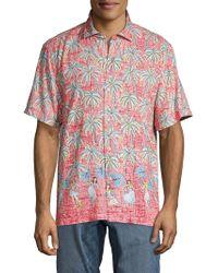 Tommy Bahama - Printed Shirt - Lyst