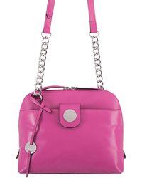 Lodis - Rodeo Chain Izabella Leather Crossbody Bag - Lyst