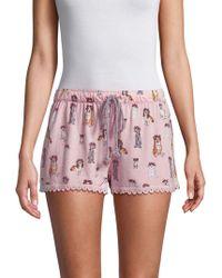 Pj Salvage - Cocktail Pyjama Shorts - Lyst