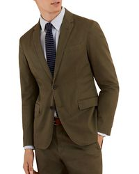 Brooks Brothers Pigment-dyed Stretch Sportcoat - Green