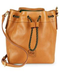 Dooney & Bourke - Florentine Small Hattie Drawstring Bucket Bag - Lyst