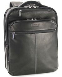 Kenneth Cole Reaction - Columbia Leather Backpack - Lyst