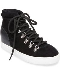 Steven by Steve Madden - Kalea (black Suede) Women's Shoes - Lyst