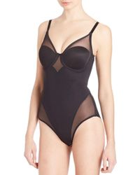 Tc Fine Intimates - Sheer Bodybriefer - Lyst