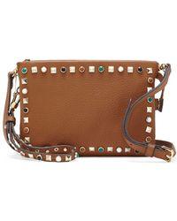 Vince Camuto - Tysa Leather Crossbody Bag - Lyst