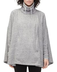UGG - Pichot Relaxed-fit Drawstring Poncho - Lyst