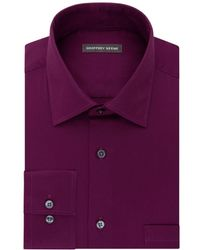 Geoffrey Beene - Go Long Sleeve Dress Shirt With Point Flex Collar - Lyst
