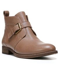 Franco Sarto - Kindra Leather Ankle Boots - Lyst