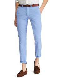 Polo Ralph Lauren - Slim-fit Stretch Chino Pants - Lyst