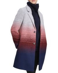 Marc New York - Belair Ombre Wool-blend Coat - Lyst