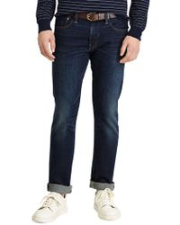 48b7c408 Polo Ralph Lauren Slim-fit Varick Ash-grey Jeans in Gray for ...