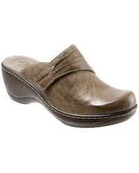 Softwalk - Mason Leather Clogs - Lyst
