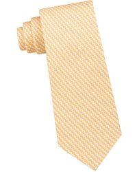 Michael Kors - Cube Geometric Silk Tie - Lyst