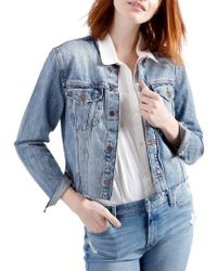 Lucky Brand - Remad Denim Jacket - Lyst