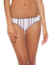 6c6b3176238e Jessica Simpson Young And Beautiful Tanga Panties in White - Lyst