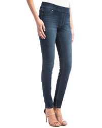 Liverpool Jeans - Sienna Skinny Whiskered Leggings - Lyst