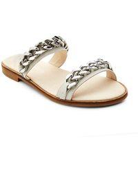 Matisse - Reagon Leather Slides - Lyst