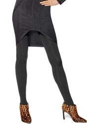 Hue - Blackout Opaque Shaping Tights - Lyst