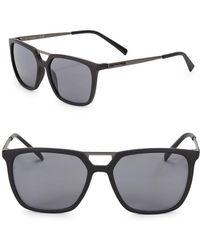 CALVIN KLEIN 205W39NYC - 55mm Square Sunglasses - Lyst